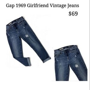 50% OFF Gap Girlfriend 1969 Vintage Jeans👖